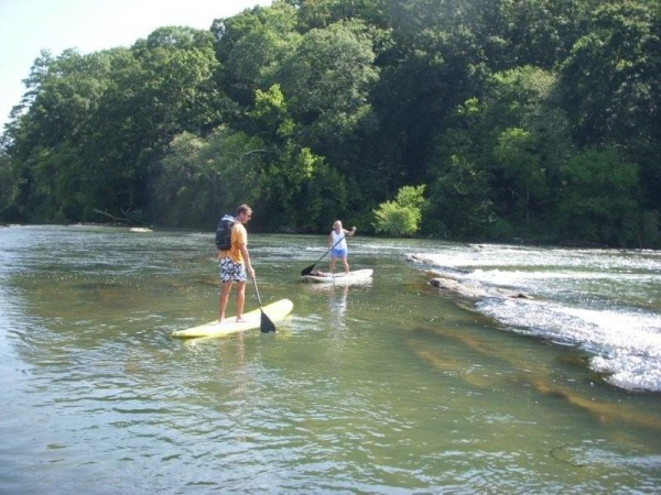 Stand Up Paddle Atlanta: cochran shoals